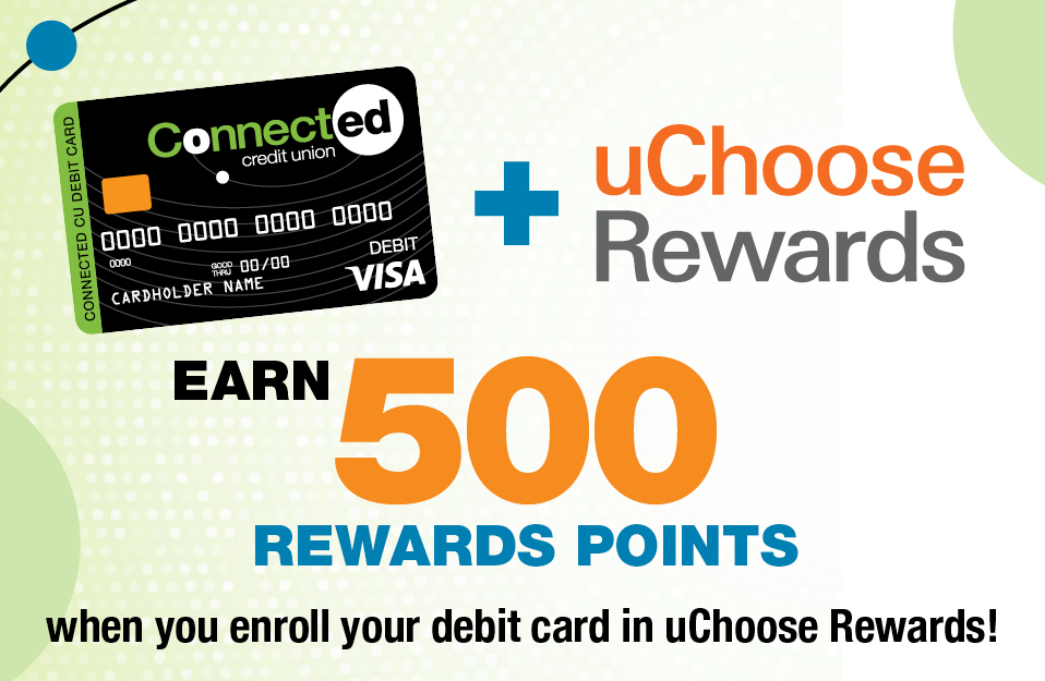 Connected Credit Union UChoose Rewards