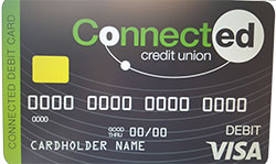 Connected CU Debit Card